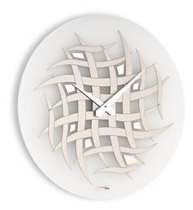 Настенные часы Incantesimo Design 553 MC Visibilium (Ваниль/Шампань)