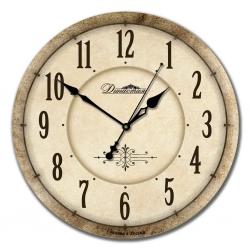"""Настенные часы из дерева Династия 02-019 """"Классика"""""""