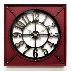 Настенные часы GALAXY DA-002 красные