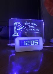 Настольные часы для записей 12-110